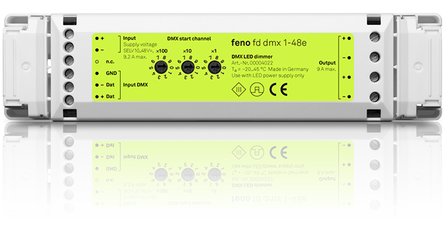 fd dmx 1-48e - DMX-LED-Dimmer
