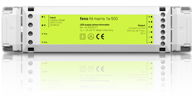 fd mains 1e 500  - Phase-dimmable LED power supply