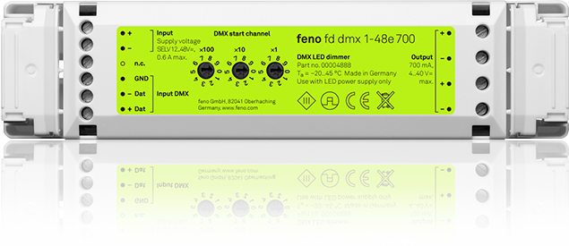 fd dmx 1-48e 700 - DMX-LED-Dimmer